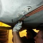Замена топливных трубок на Ауди А6