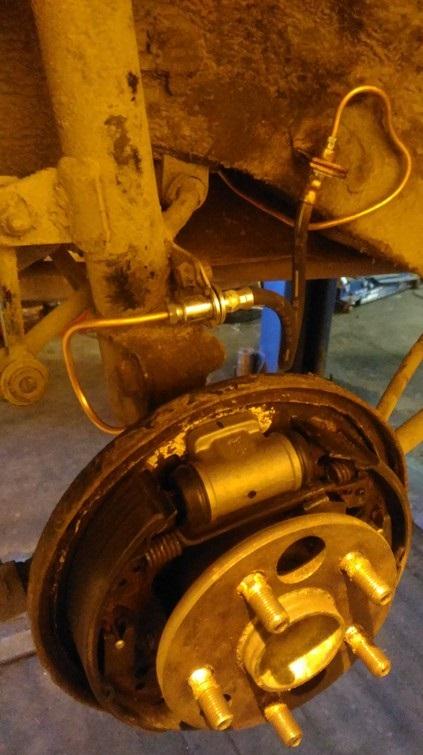 Новая трубка, шланг, тормозной цилиндр