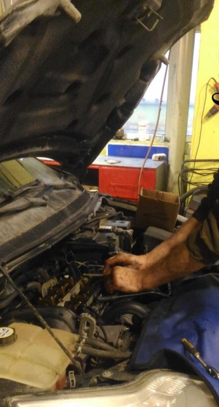 Диагностика клапанов двигателя Форд
