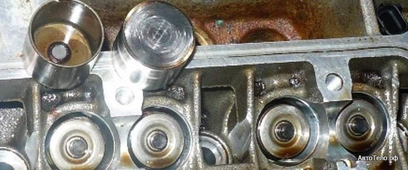 Регулировка клапанов двигателя Форд Фокус 2 1,6