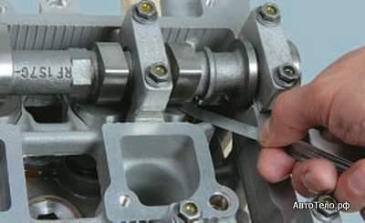 Диагностика тепловых зазоров двигателя Форд Фокус 2 1,6