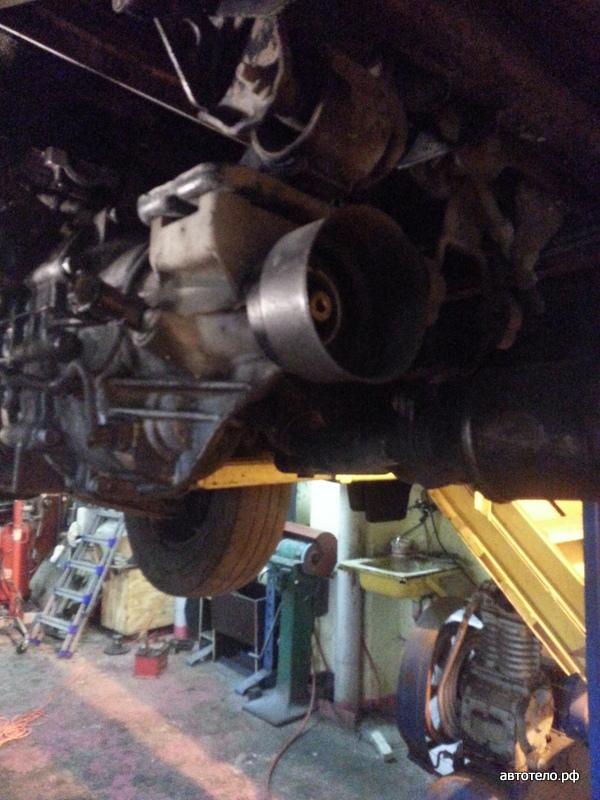 замена сальника двигателя киа