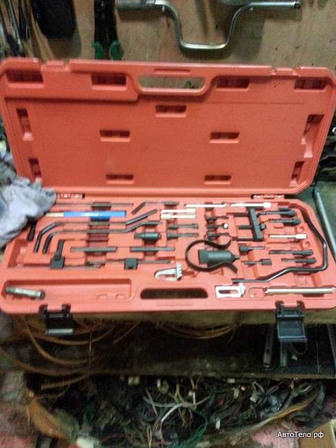 Citroen C4 замена ГРМ набор инструмента