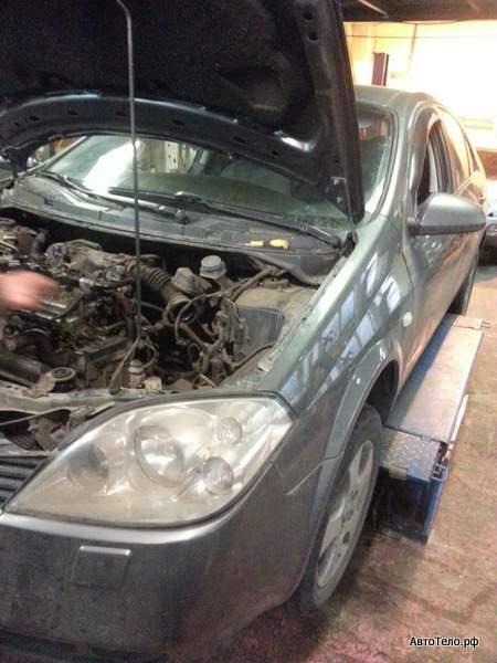 Nissan Primera ремонт