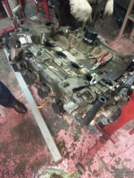 Nissan Primera ремонт двигателя