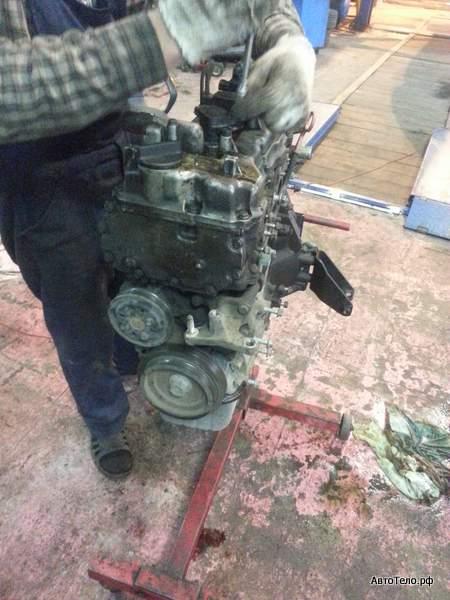 Primera капитальный ремонт двигателя