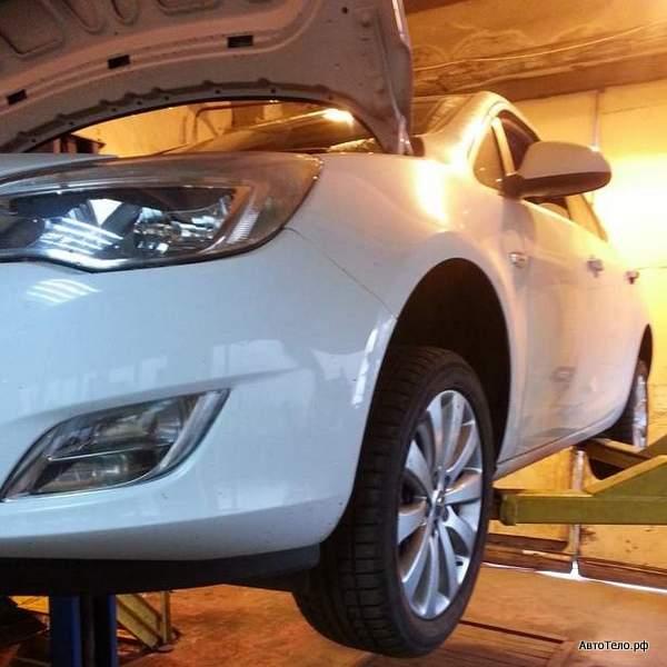 Ремонт Opel Astra J 1,6L