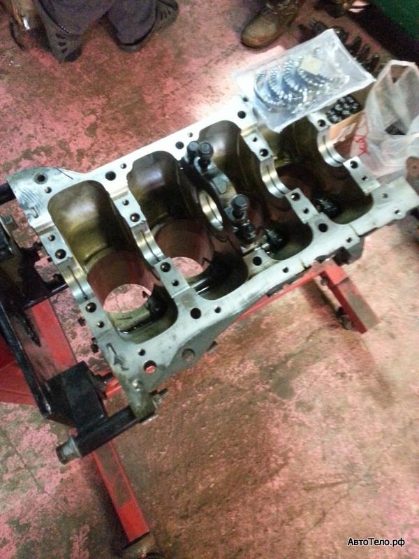 капитальный ремонт двигателя митсубиси