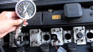 Замер компрессии в двигателе
