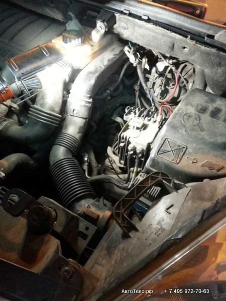 ремонт пежо партнер в автосервисе Автотело