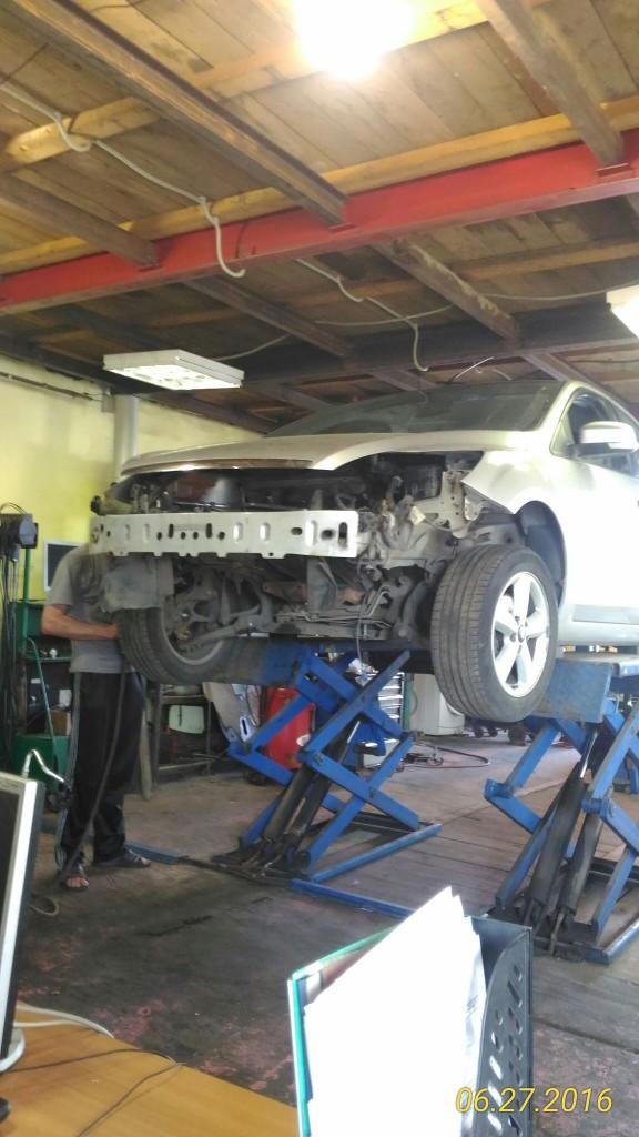 Ремонт двигателя Форд Фокус прогар поршня