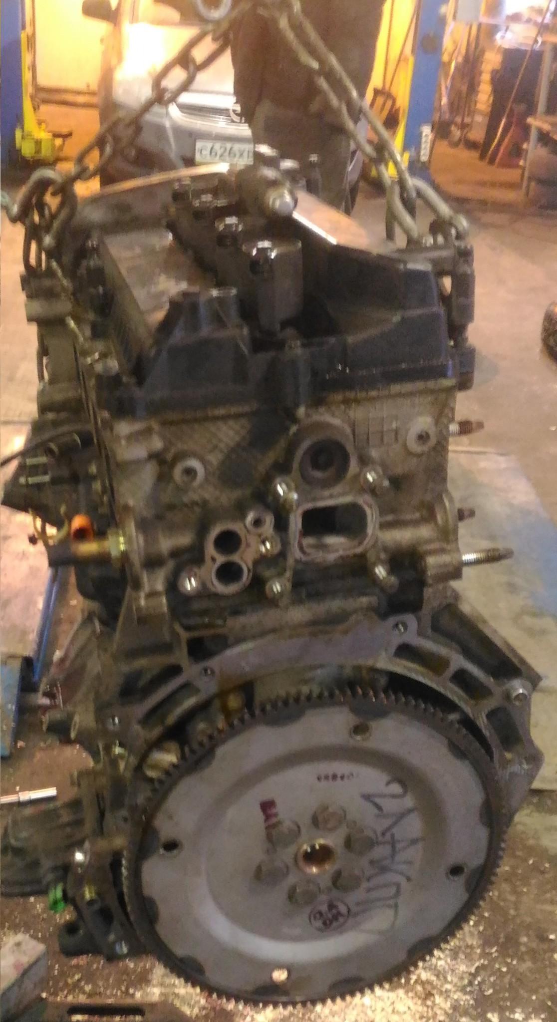 Ремонт двигателя ФФ2 AODA