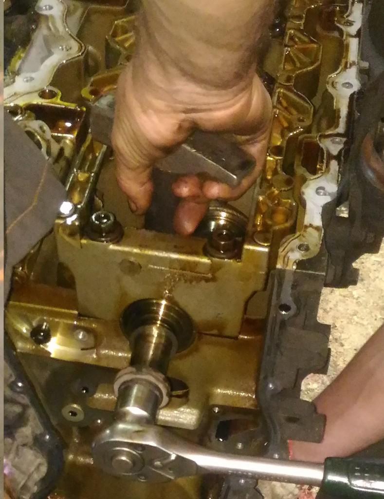 Ремонт двигателя ФФ2