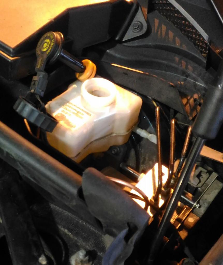 Замена тормозной жидкости на БМВ