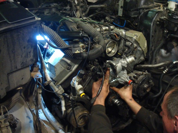 Замена помпы на М52