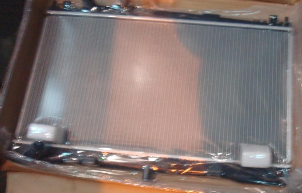 Замена радиатора кондиционера на Мазда 6