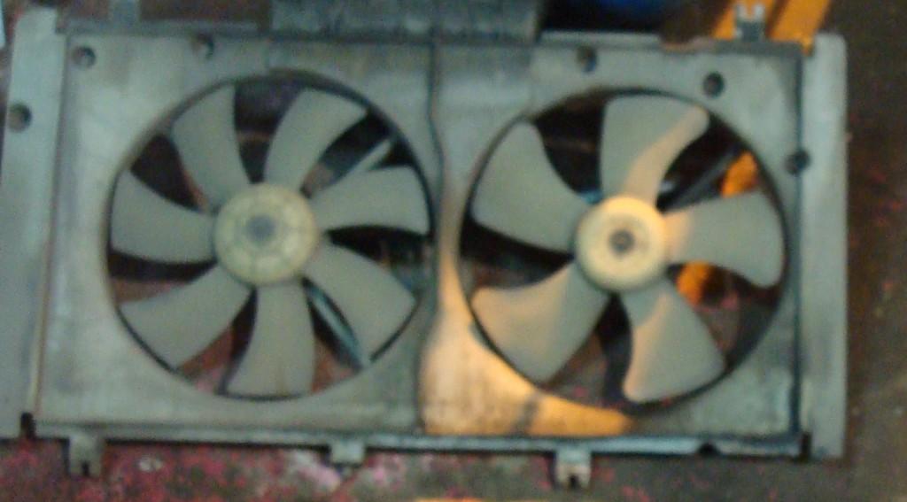 Диагностика вентиляторов охлаждения на Мазда 6