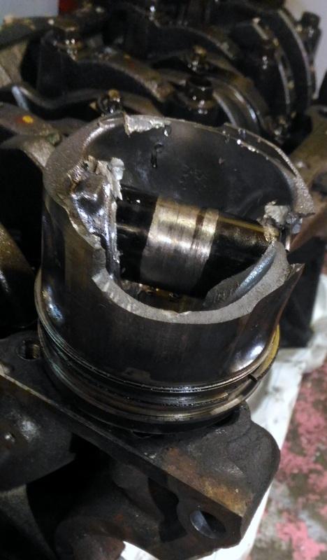 Гидроудар на Форде Транзит