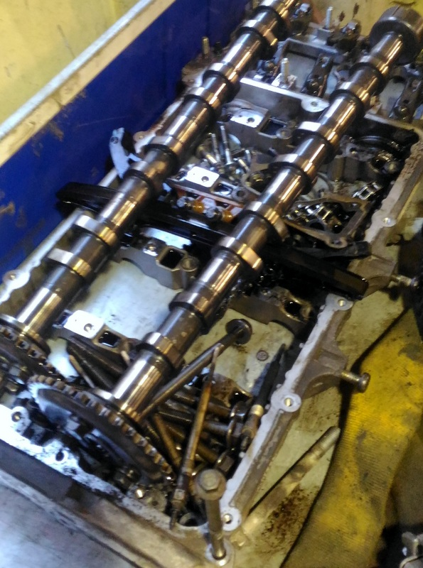Ремонт мотора Форд транзит после гидроудара
