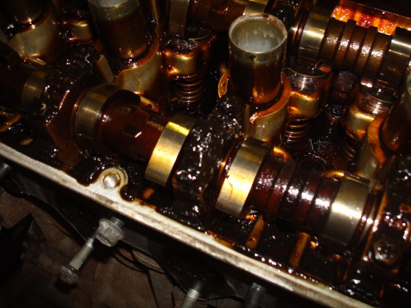 Отложения в двигателе Хендай