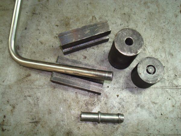 вальцовка стальной трубки