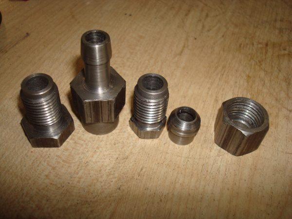 топливные штуцера М14*1,5 мм М16*1,5