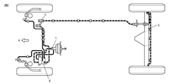 сузуки гранд витара схема тормозных трубопроводов автотело.рф