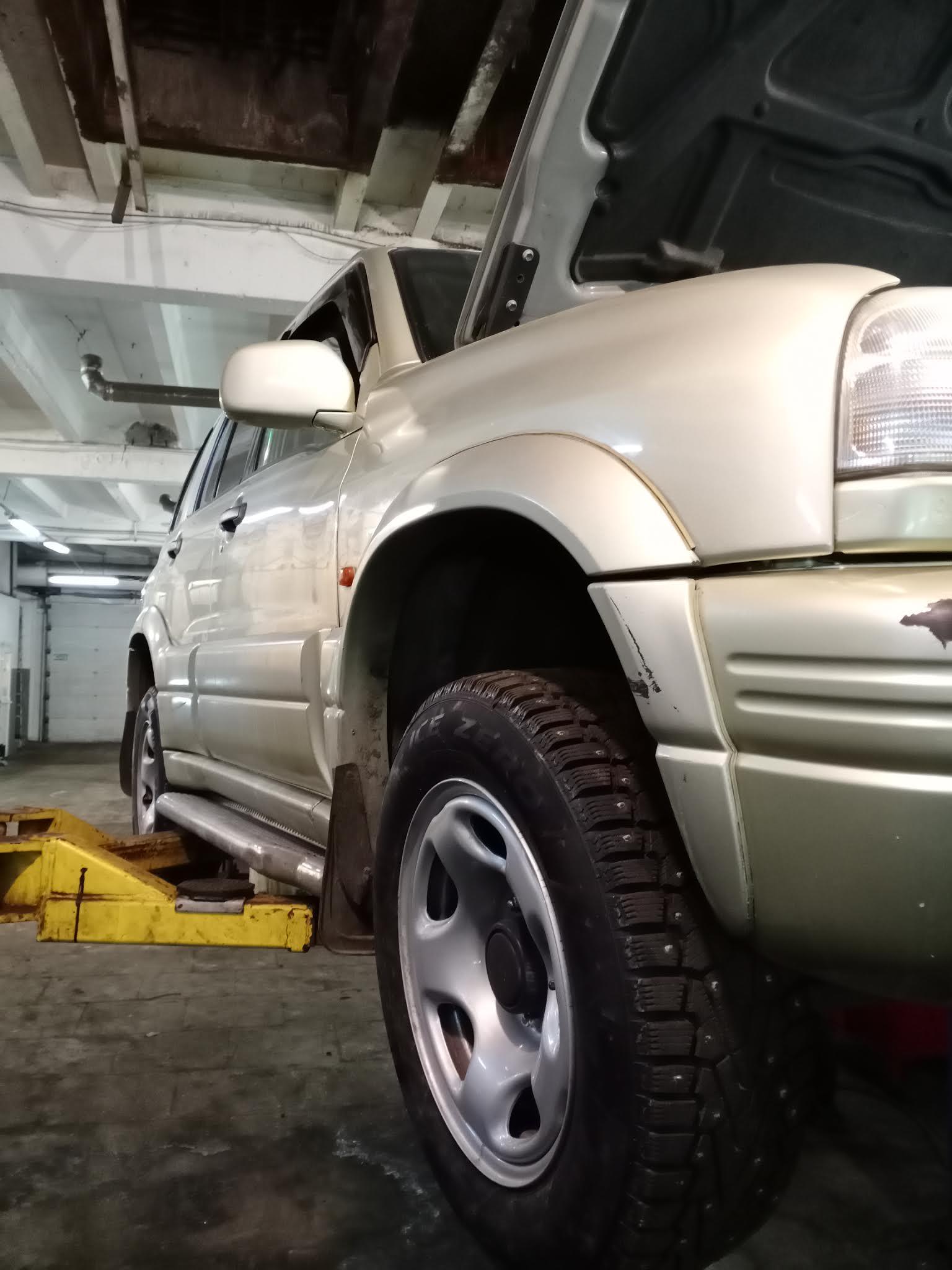 Suzuki Grand Vitara замена шлангов автотело.рф