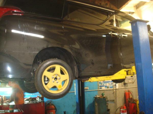 Toyota Alphard ремонт вальцовка стальной трубки автотело.рф