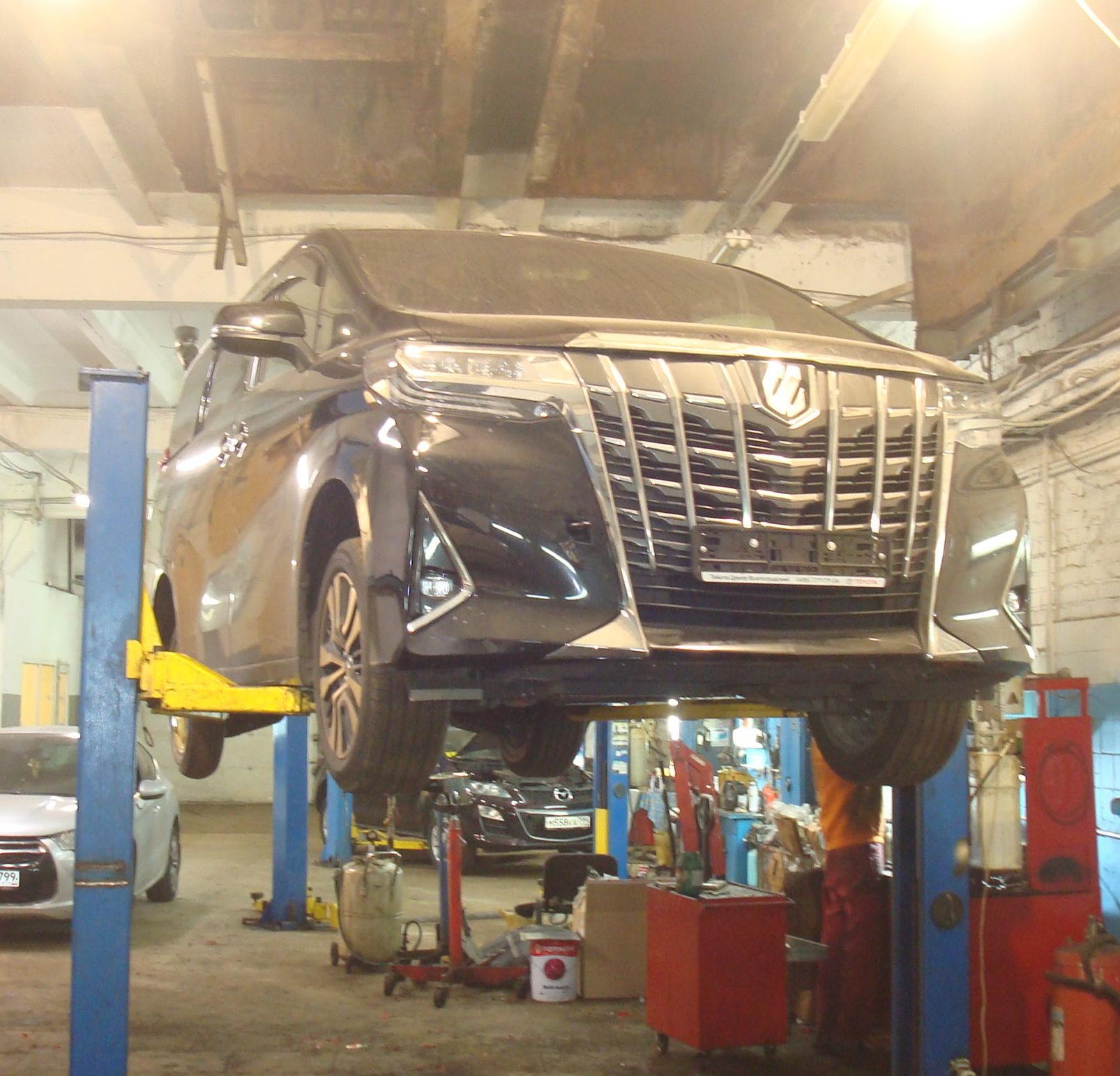 Toyota Alphard ремонт трубки автотело.рф