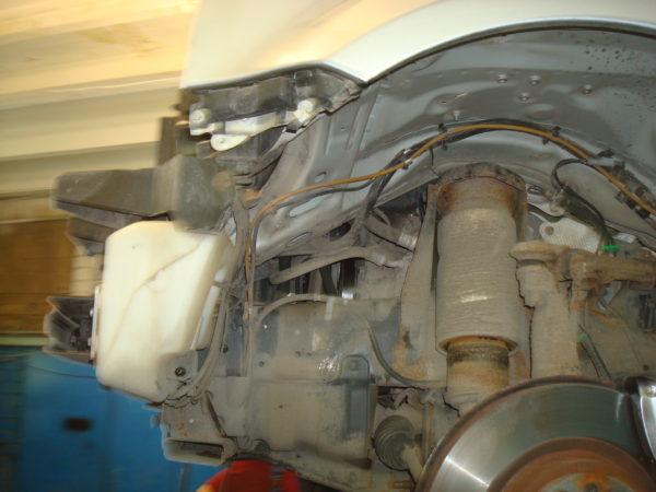 ренж разборка кузова для замены топливных трубок