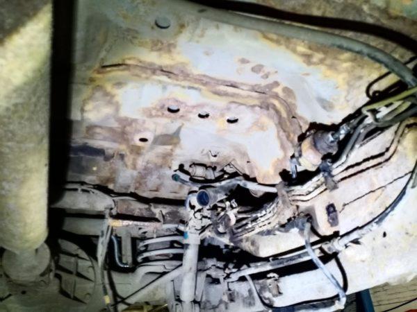 снятый бензобак на митсубиши паджеро спорт автотело.рф