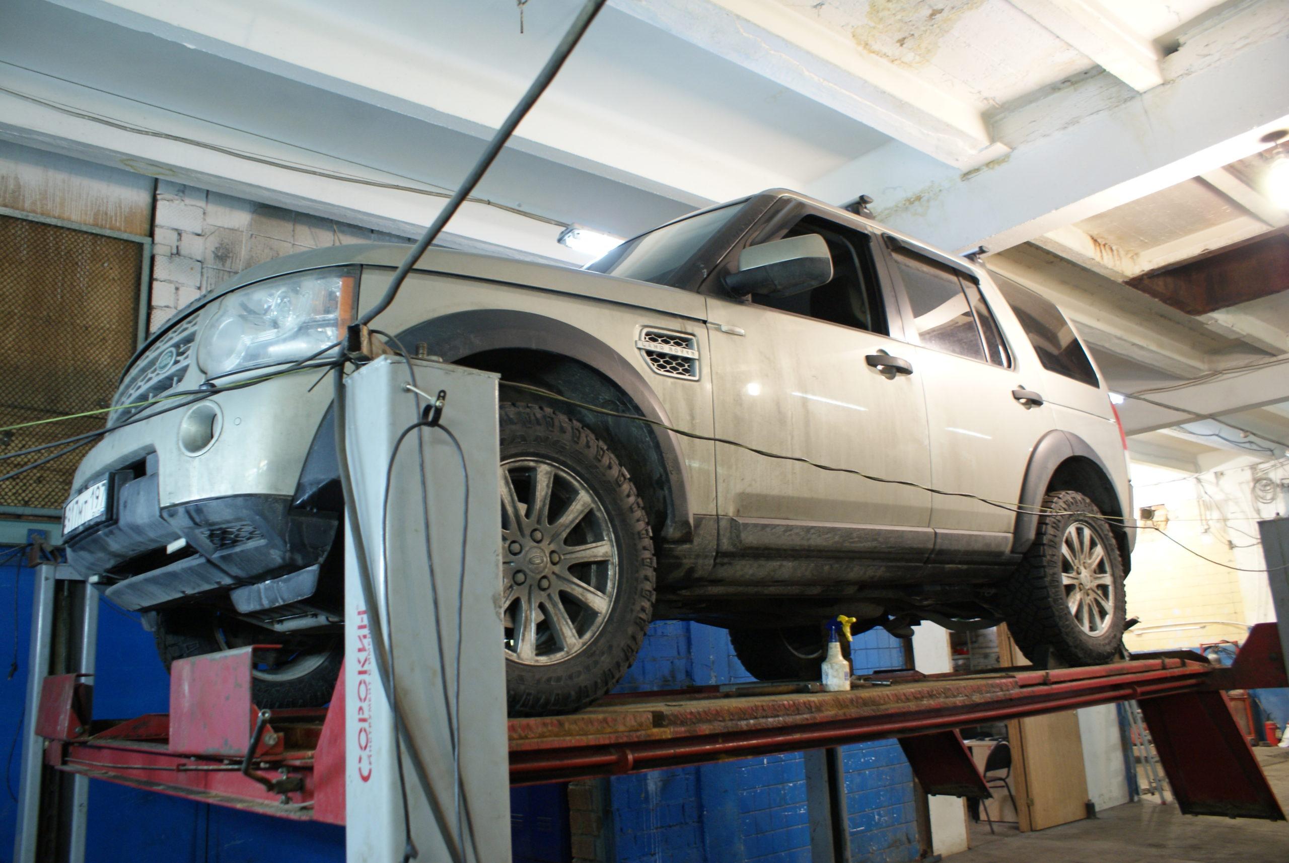 Land Rover Discovery замена тормозных трубок
