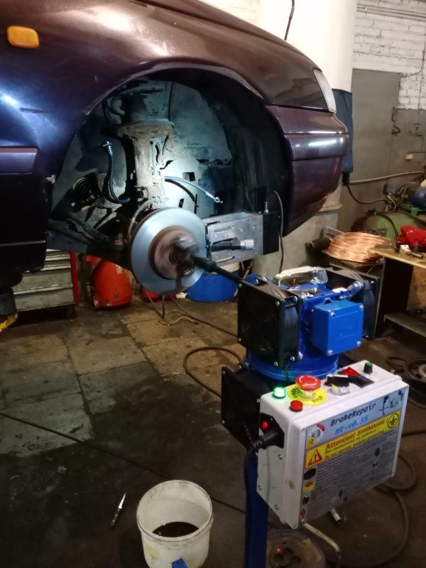 проточка тормозных дисков автотело